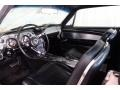 1967 Ford Mustang Deluxe Black Interior Front Seat Photo