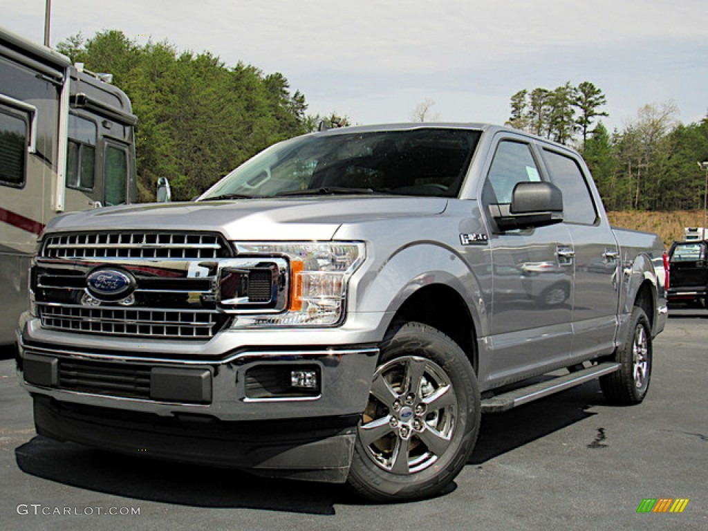 2020 F150 XLT SuperCrew - Iconic Silver / Medium Earth Gray photo #1