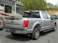 2020 Iconic Silver Ford F150 XLT SuperCrew  photo #5