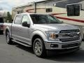2020 Iconic Silver Ford F150 XLT SuperCrew  photo #7
