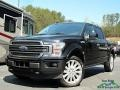 2020 Agate Black Ford F150 Limited SuperCrew 4x4  photo #1