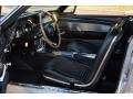 1967 Ford Mustang Black Interior Front Seat Photo