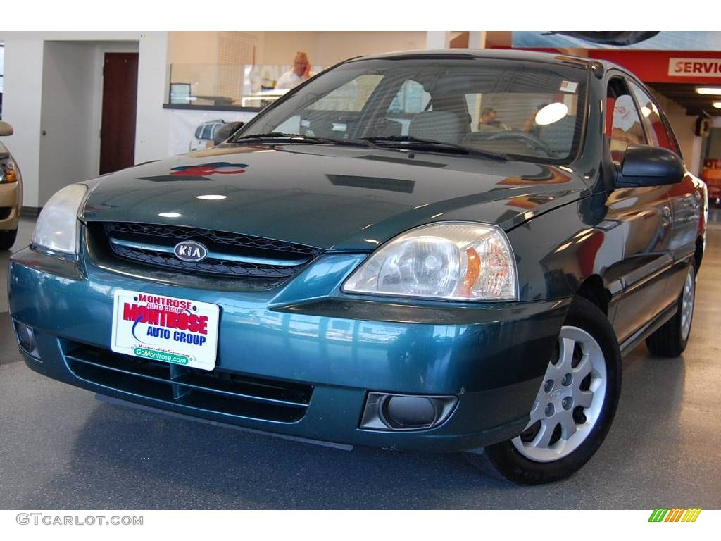 2003 willow green kia rio sedan 13820900. Black Bedroom Furniture Sets. Home Design Ideas