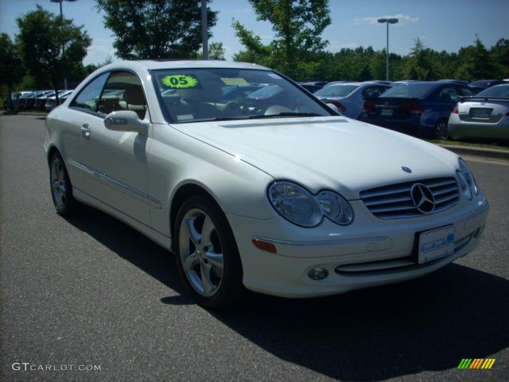 2005 Alabaster White Mercedes Benz Clk 320 Coupe 13813505