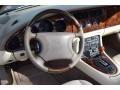 1997 Jaguar XK Cashmere Interior Steering Wheel Photo