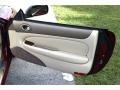 1997 Jaguar XK Cashmere Interior Door Panel Photo