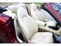 1997 Jaguar XK Cashmere Interior Front Seat Photo
