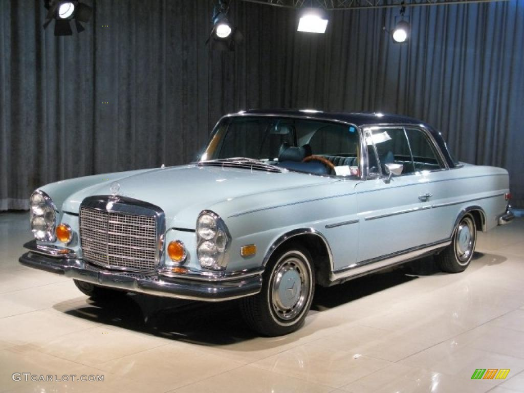 1971 Robins Egg Blue Mercedes Benz S Class 280se 3 5 Coupe