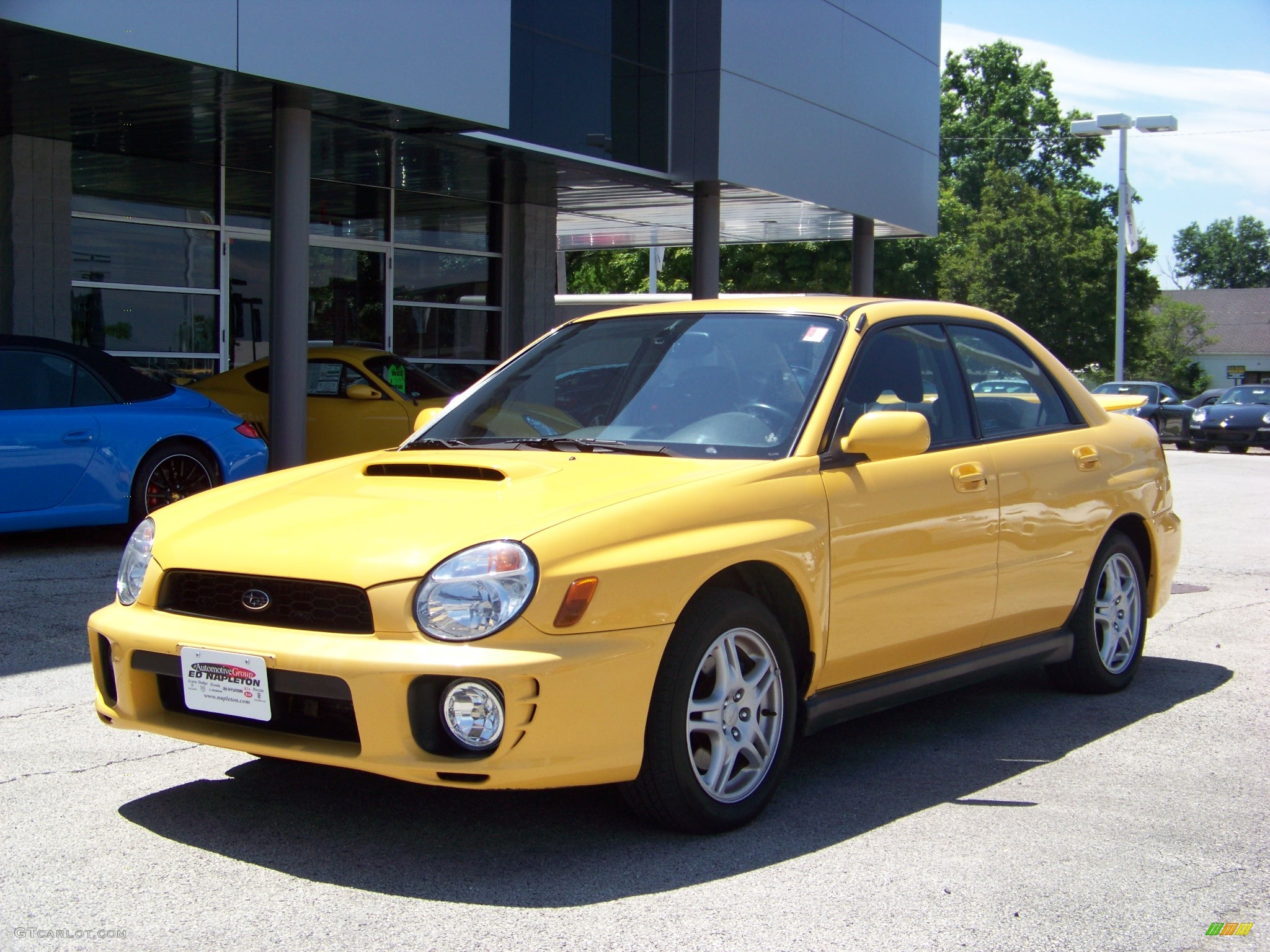 2003 sonic yellow subaru impreza wrx sedan 13874364 gtcarlot 2003 impreza wrx sedan sonic yellow greyblue photo 1 vanachro Gallery