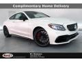 designo Diamond White Metallic - C AMG 63 S Coupe Photo No. 1