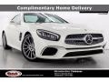 designo Diamond White Metallic 2020 Mercedes-Benz SL 450 Roadster