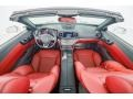 2020 SL 450 Roadster Bengal Red/Black Interior