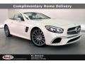 designo Diamond White Metallic 2019 Mercedes-Benz SL 550 Roadster