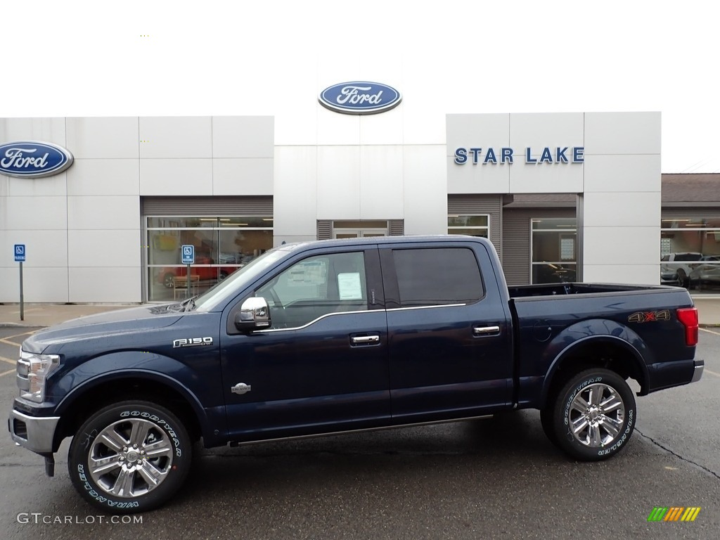 2020 F150 King Ranch SuperCrew 4x4 - Blue Jeans / King Ranch Kingsville/Java photo #1