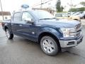 2020 Blue Jeans Ford F150 King Ranch SuperCrew 4x4  photo #7
