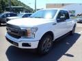 2020 Oxford White Ford F150 XLT SuperCab 4x4  photo #2