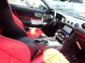 2020 Ford Mustang Showstopper Red/Recaro Leather Trimmed Interior Dashboard Photo