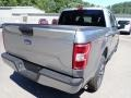 2020 Iconic Silver Ford F150 XL SuperCrew 4x4  photo #2