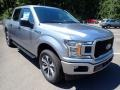 2020 Iconic Silver Ford F150 XL SuperCrew 4x4  photo #3