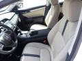 Ivory 2020 Honda Civic Interiors