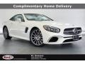 designo Diamond White Metallic 2020 Mercedes-Benz SL 550 Roadster