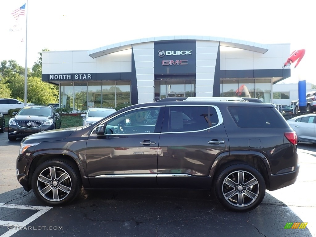 2017 Acadia Denali AWD - Iridium Metallic / Jet Black photo #1