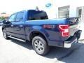 2020 Blue Jeans Ford F150 XLT SuperCrew 4x4  photo #3