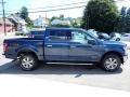 2020 Blue Jeans Ford F150 XLT SuperCrew 4x4  photo #5