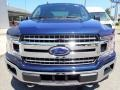 2020 Blue Jeans Ford F150 XLT SuperCrew 4x4  photo #7