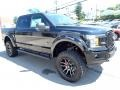 2020 Agate Black Ford F150 Lariat SuperCrew 4x4  photo #7
