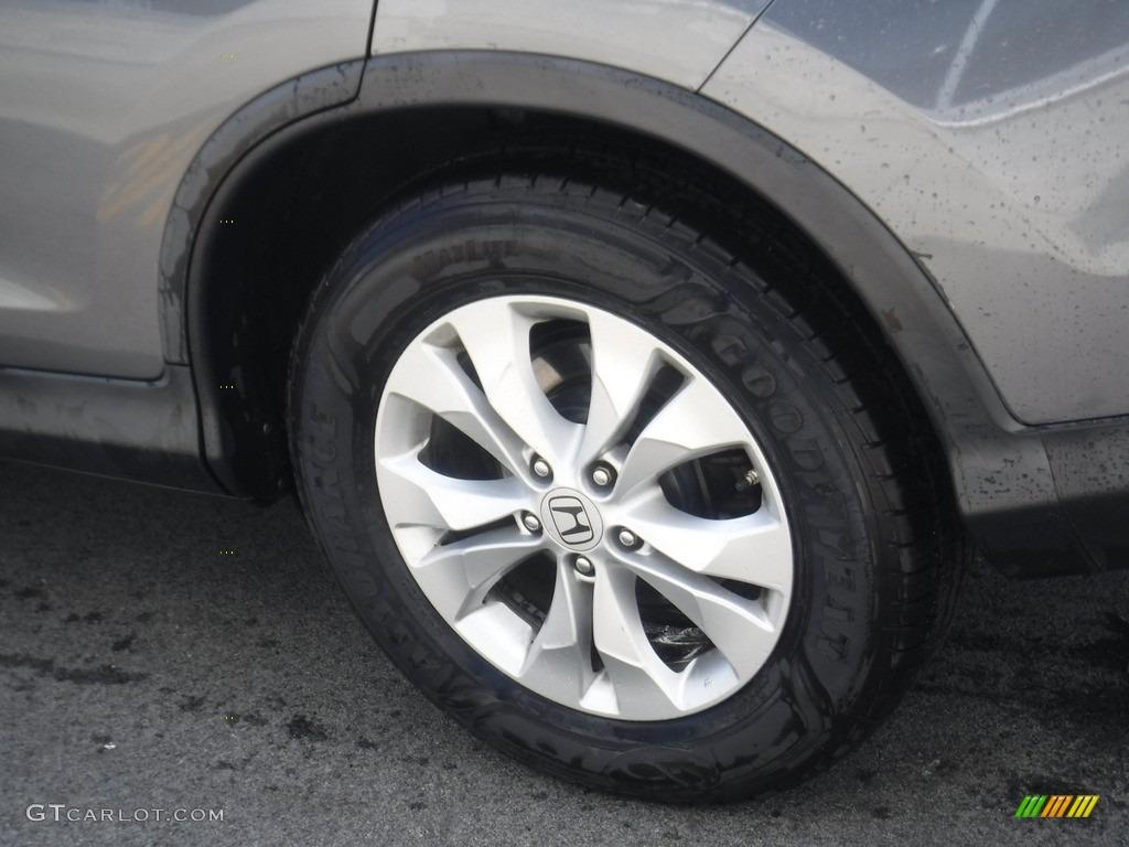 2012 CR-V EX 4WD - Polished Metal Metallic / Gray photo #7