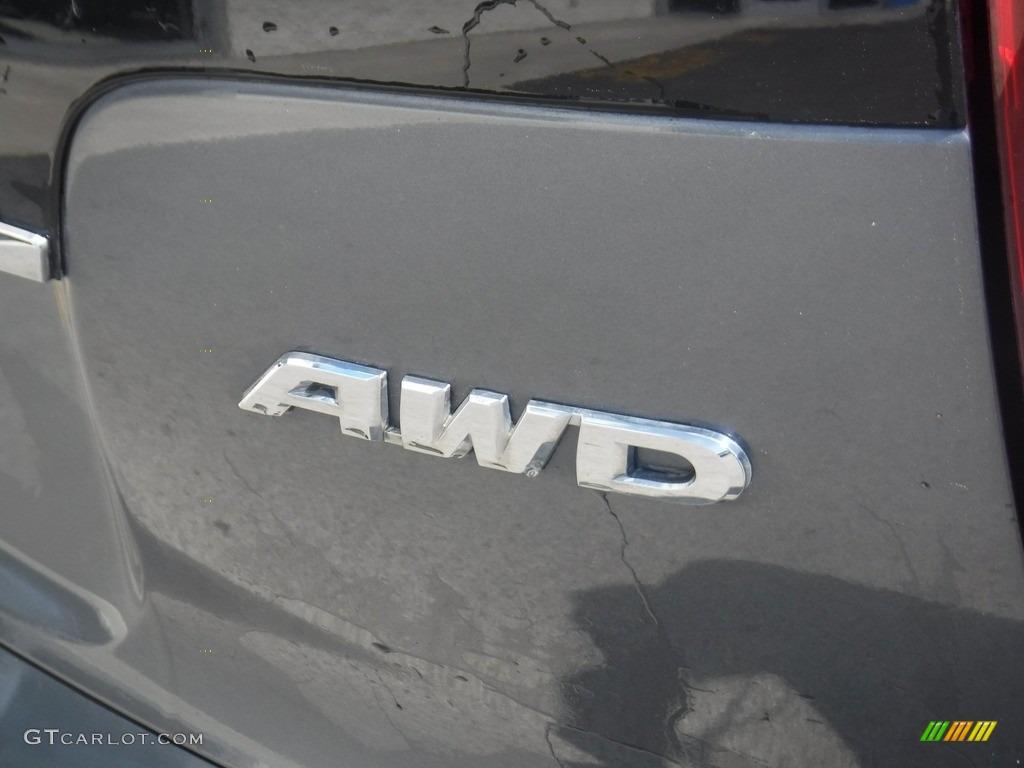 2012 CR-V EX 4WD - Polished Metal Metallic / Gray photo #10