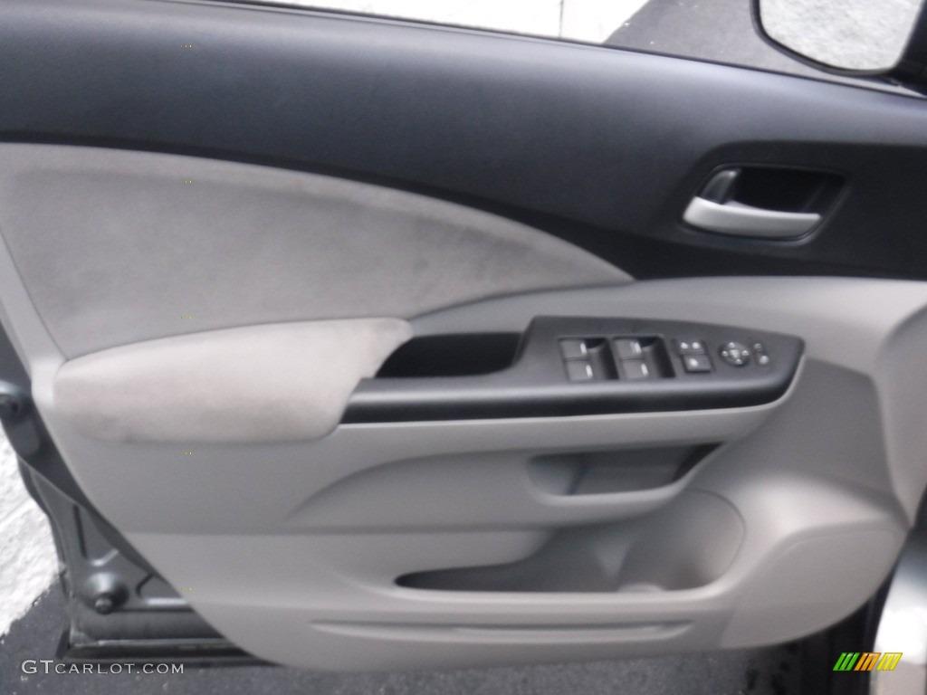 2012 CR-V EX 4WD - Polished Metal Metallic / Gray photo #12