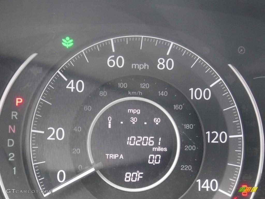 2012 CR-V EX 4WD - Polished Metal Metallic / Gray photo #27