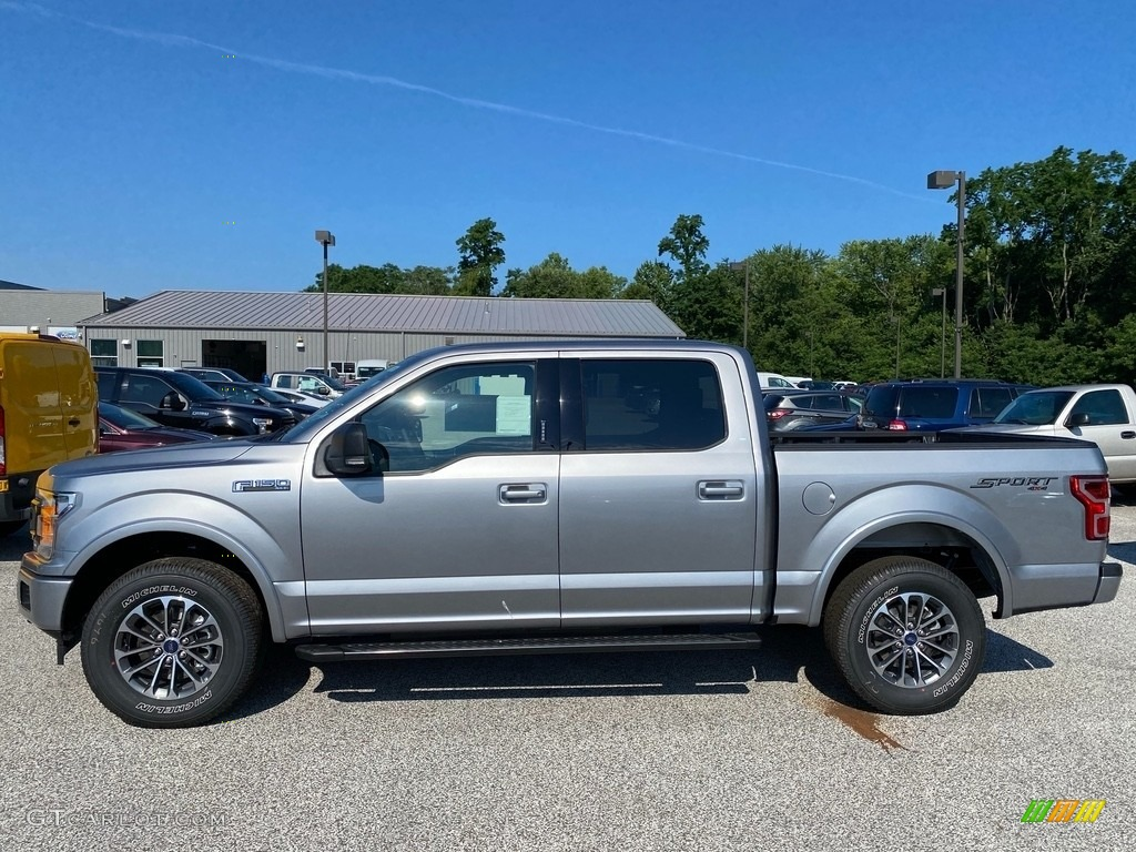 2020 F150 XLT SuperCrew 4x4 - Iconic Silver / Black photo #1