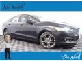 2013 Tuxedo Black Metallic Ford Fusion Titanium AWD  photo #1