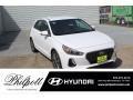 Ceramic White 2020 Hyundai Elantra GT