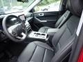 Ebony Interior Photo for 2020 Ford Explorer #138960137