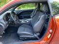 2020 Dodge Challenger Black w/Alcantara Interior Front Seat Photo
