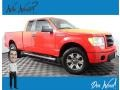 2013 Race Red Ford F150 STX SuperCab 4x4 #138974594