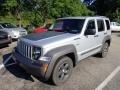 Bright Silver Metallic 2011 Jeep Liberty Renegade 4x4