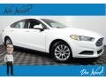 2016 Oxford White Ford Fusion S #139021710
