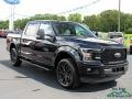 2020 Agate Black Ford F150 Lariat SuperCrew 4x4  photo #7