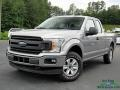 2020 Iconic Silver Ford F150 XL SuperCab 4x4  photo #1
