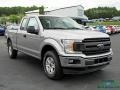 2020 Iconic Silver Ford F150 XL SuperCab 4x4  photo #7
