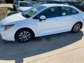 Super White 2021 Toyota Corolla Hybrid LE