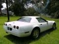 Arctic White - Corvette Convertible Photo No. 7