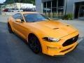 2019 Orange Fury Ford Mustang GT Premium Fastback  photo #8