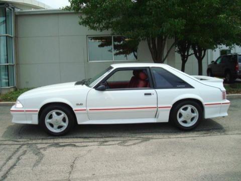 Ford Mustang Gt500 Fastback. 1988 Ford Mustang GT Fastback