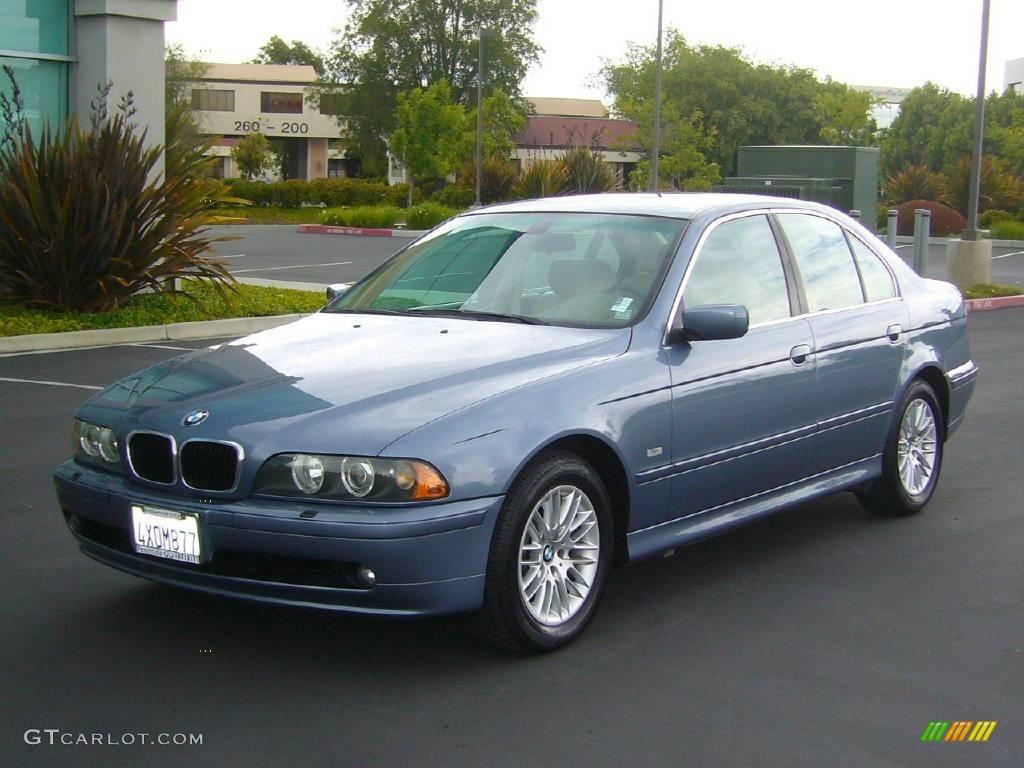 2002 bmw 5 series sedan